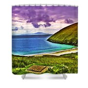 Keem Bay - Ireland Shower Curtain