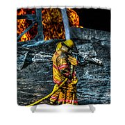 Keep Fire In Your Life No 8 Shower Curtain