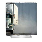 Keep On Truckin'... Shower Curtain