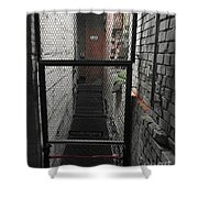 Keep Out  Shower Curtain