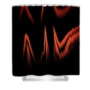Keep The Fire Burning Shower Curtain