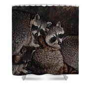 Keep Warm Shower Curtain
