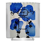 Keep Your Head Out Of The Sky Shower Curtain