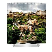 Keeper Of The Castle 2 Shower Curtain