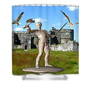 Keeper Of The Castle 4 Shower Curtain