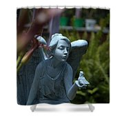 Keeper Of The Gardens Shower Curtain