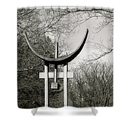 Keeper Of The Grove Shower Curtain