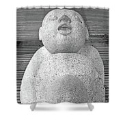 Keihanna Statue No. 39-1 Shower Curtain