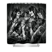 Keith And Ronnie 2 Shower Curtain