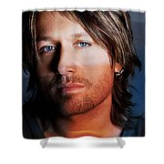 Keith Urban  Shower Curtain