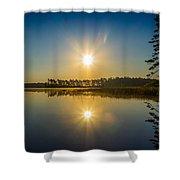 Kejimkujik Dawn Shower Curtain