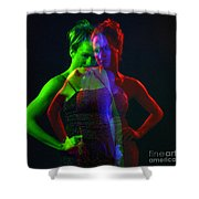 Kelliergb-1 Shower Curtain