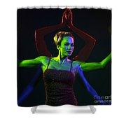 Kelliergb-11 Shower Curtain