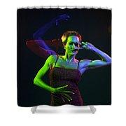 Kelliergb-12 Shower Curtain