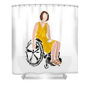 Kelly Shower Curtain by Nancy Levan