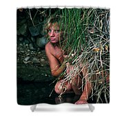 Kelly Nude Shower Curtain