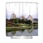 Kelowna Waterfront Park Shower Curtain