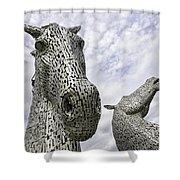 Kelpies Shower Curtain