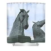 Kelpies Shower Curtain
