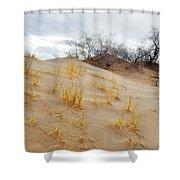 Kelso Dune Slopes Shower Curtain