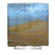 Kelso Dunes Blue Sky Shower Curtain