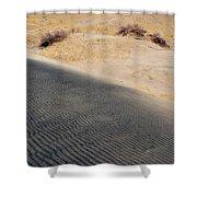 Kelso Dunes Portrait Shower Curtain