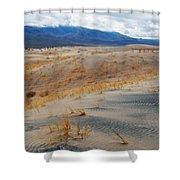 Kelso Dunes Winter Shower Curtain