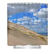 Kelso Sand Dune Field Shower Curtain