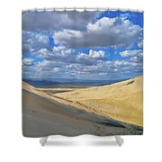 Kelso Sand Dunes Shower Curtain