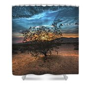 Kelso Sunset Shower Curtain