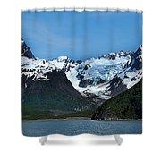 Kenai Fjords National Park Alaska Shower Curtain