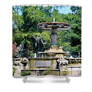 Kenan Memorial Fountain Shower Curtain