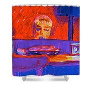 Kennebunkport Inn Piano Singer Shower Curtain