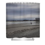Kennebunkport Maine And Colonial Hotel Shower Curtain