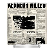 Kennedy Assassination, 1963 Shower Curtain