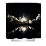 Kennedy Space Center, United States By Nasa Shower Curtain