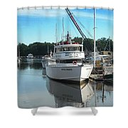 Kennubunk, Maine -1 Shower Curtain