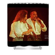 Kenny G-peabo Bryson-95-1376 Shower Curtain