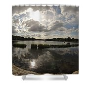 Kensington Clouds Shower Curtain