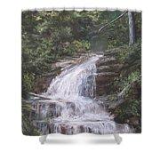 Kent Falls Shower Curtain by Jack Skinner