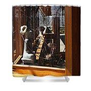 Kentuck Knob Frank Lloyd Wright Shower Curtain