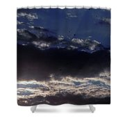 Kentucky Sunset Shower Curtain by John Parry