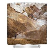 Kerlingafjoll Mountain Shower Curtain