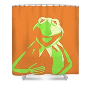 Kermit The Frog Shower Curtain