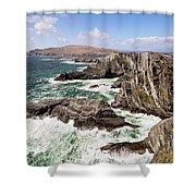 Kerry Cliffs Shower Curtain