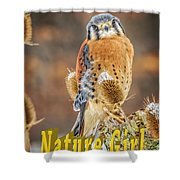 Kestrel Nature Wear Shower Curtain