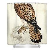 Kestril, Female Shower Curtain