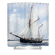 Ketch Rig Solvig Shower Curtain