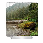 Ketchikan's Misty Fjord Shower Curtain