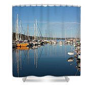 Kettering Harbour Shower Curtain